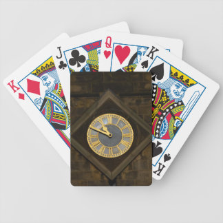 Church Clock Bicycle Playing Cards