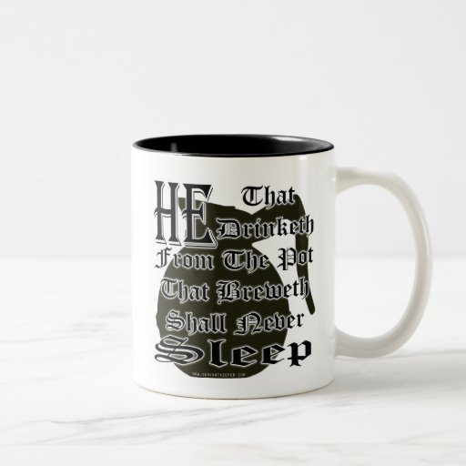 CHURCH COFFEE JOKE MUGS