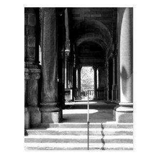 Church Colonnade Postcard