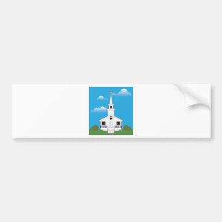 Church Color Bumper Sticker