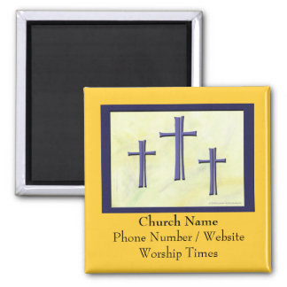 Church Contact Magnet