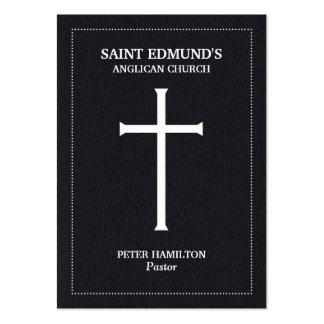 Church Cross Chubby Business Cards