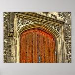 Church Door 2 Print