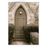 Church Door Card