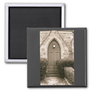 Church Door Fridge Magnets