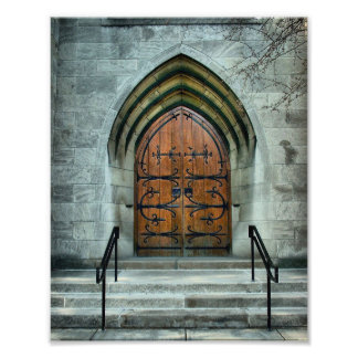 Church Door JPG Photo Art