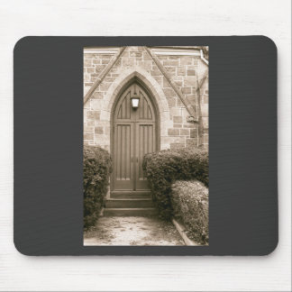 Church Door Mouse Pad