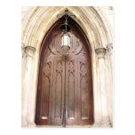 Church door postcards
