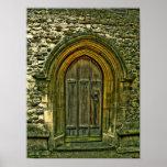 Church Door Print
