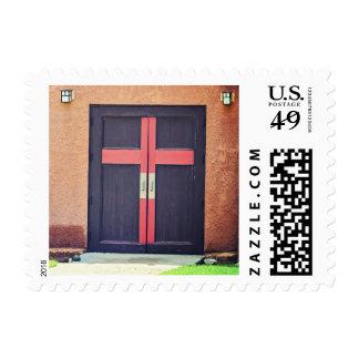 """Church Door Small, 1.8"""" x 1.3"""", $0.47 Stamp"""