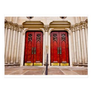 Church Doors Postcard