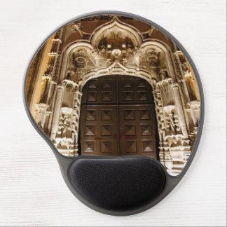 Church doorway at night gel mouse pad