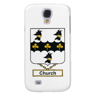 Church Family Crest Samsung Galaxy S4 Case