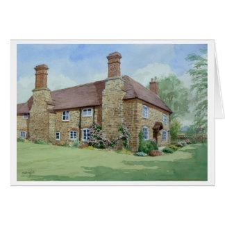 Church Farm, Ditton Priors. Greeting Card