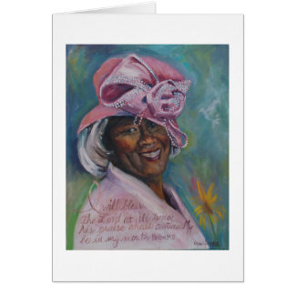 Church Hat Ida Card