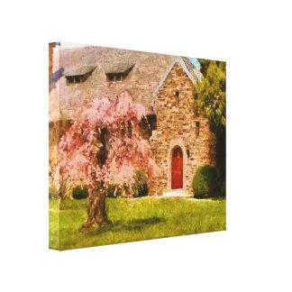 Church - Heaven Created Gallery Wrap Canvas