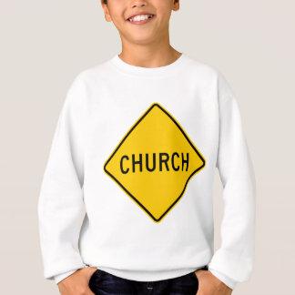 Church Highway Sign Sweatshirt