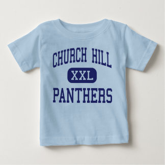 Church Hill Panthers Middle Church Hill Baby T-Shirt
