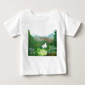 church in a valley baby T-Shirt
