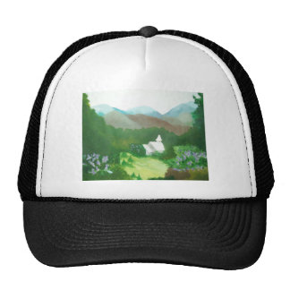 church in a valley hats