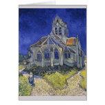 Church in Auvers-sur-Oise by Vincent Van Gogh Card