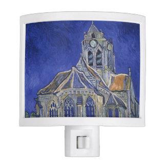 Church in Auvers-sur-Oise by Vincent Van Gogh Nite Light