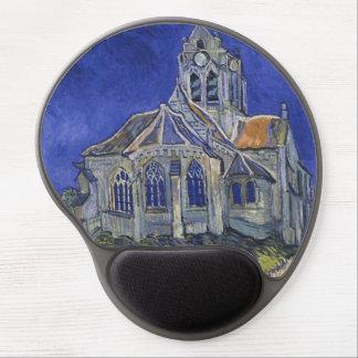 Church in Auvers-sur-Oise by Vincent Van Gogh Gel Mouse Pad
