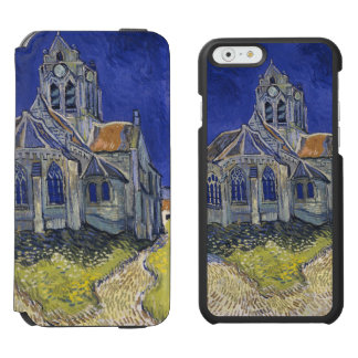 Church in Auvers-sur-Oise by Vincent Van Gogh iPhone 6/6s Wallet Case