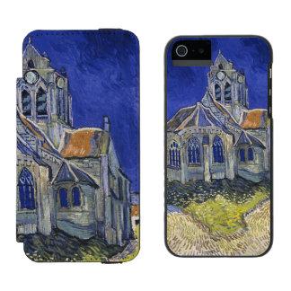 Church in Auvers-sur-Oise by Vincent Van Gogh iPhone SE/5/5s Wallet Case