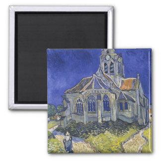 Church in Auvers-sur-Oise by Vincent Van Gogh Fridge Magnets