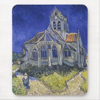 Church in Auvers-sur-Oise by Vincent Van Gogh Mouse Pad