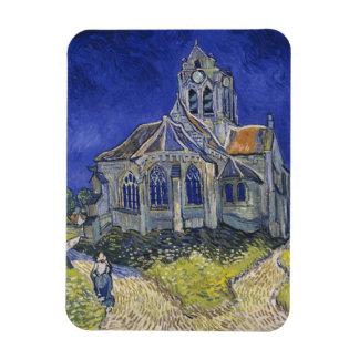 Church in Auvers-sur-Oise by Vincent Van Gogh Flexible Magnet