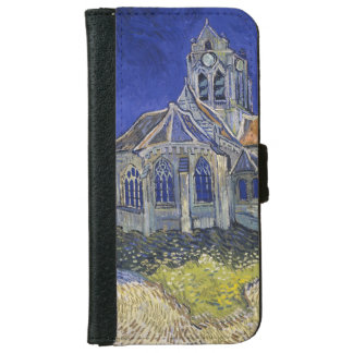 Church in Auvers-sur-Oise by Vincent Van Gogh Wallet Phone Case For iPhone 6/6s