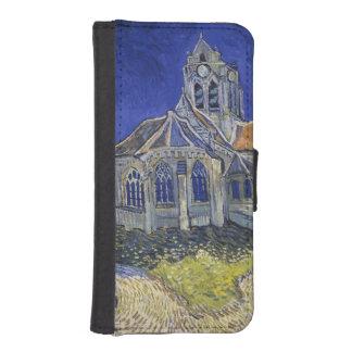 Church in Auvers-sur-Oise by Vincent Van Gogh Wallet Phone Case For iPhone SE/5/5s