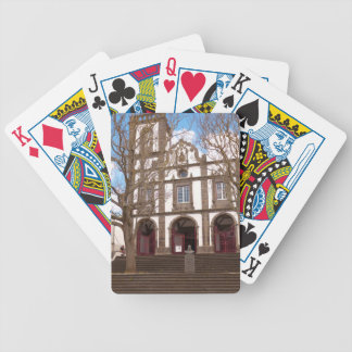 Church in Azores islands Bicycle Playing Cards