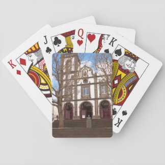 Church in Azores islands Playing Cards