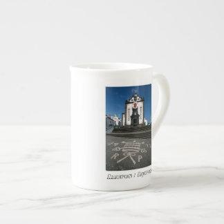 Church in Azores islands Tea Cup