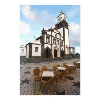 Church in Azores Photo Print