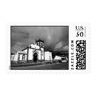Church in Azores Postage