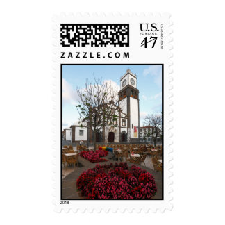 Church in Azores Postage Stamp