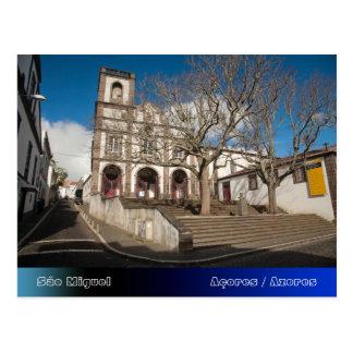 Church in Azores Postcard