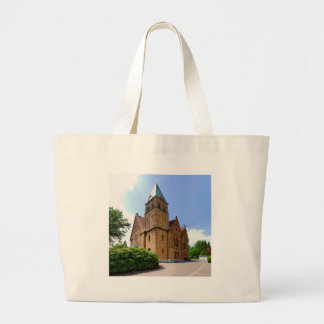 Church in Bielefeld Brake Large Tote Bag