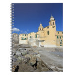 Church in Camogli Spiral Notebook