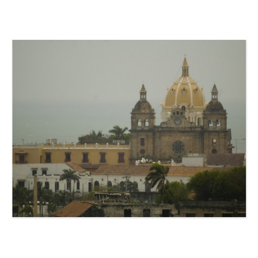 Church in Cartagena, Colombia Post Cards