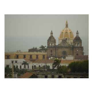 Church in Cartagena, Colombia Postcard