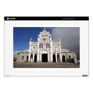 church in costa rica laptop decal