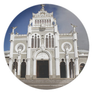 church in costa rica dinner plates