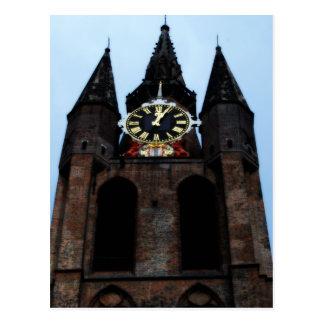 Church in Delft Postcard
