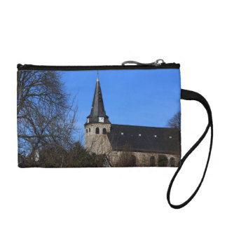 church in early spring 2 change purse