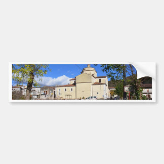 Church In Laino Borgo Bumper Sticker